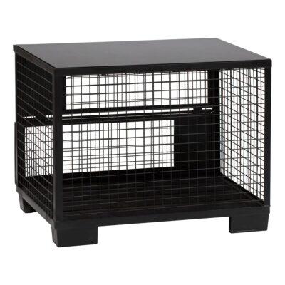 Comptoir de buffet Cage, noir-noir